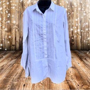 🌸2/$20🌸 J. Jill | White Shirt Collection blouse
